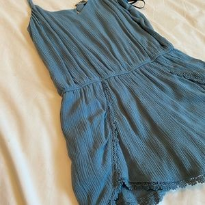 Blue Forever 21 Jumper Shorts